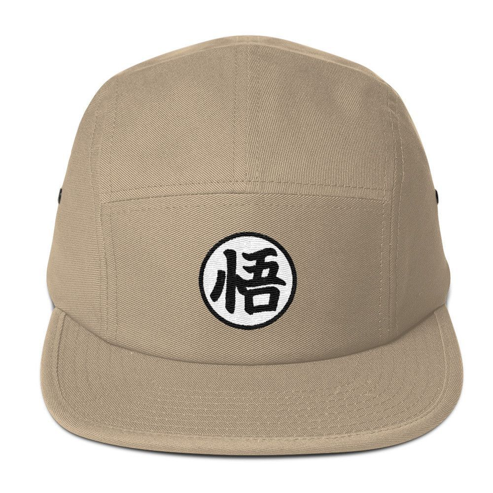 1e07b23aba117 Dragon Ball Z Go Kanji 5 Panel Hat