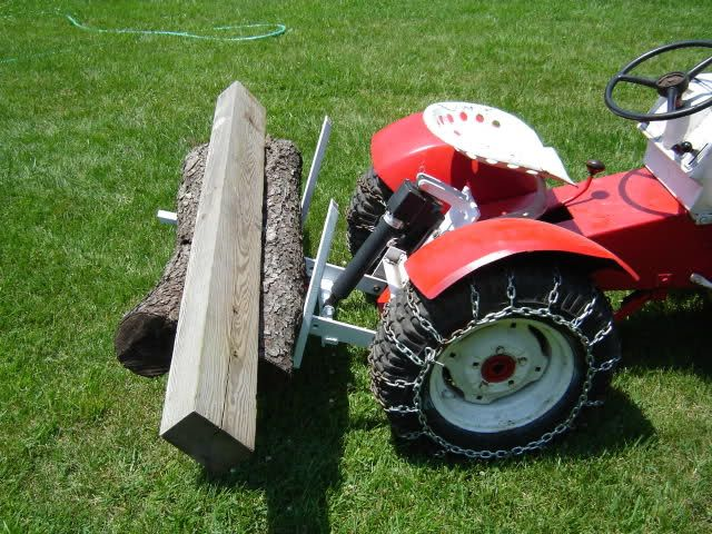 Homemade Sleeve hitch carry all - MyTractorForum com - The
