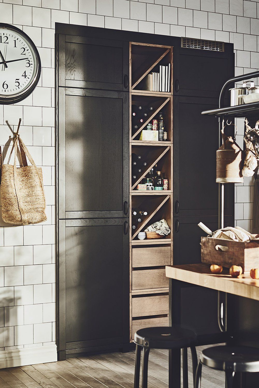 IKEA dévoile son premier catalogue de printemps ! | Rangement bouteille de vin, Cuisine ikea et ...