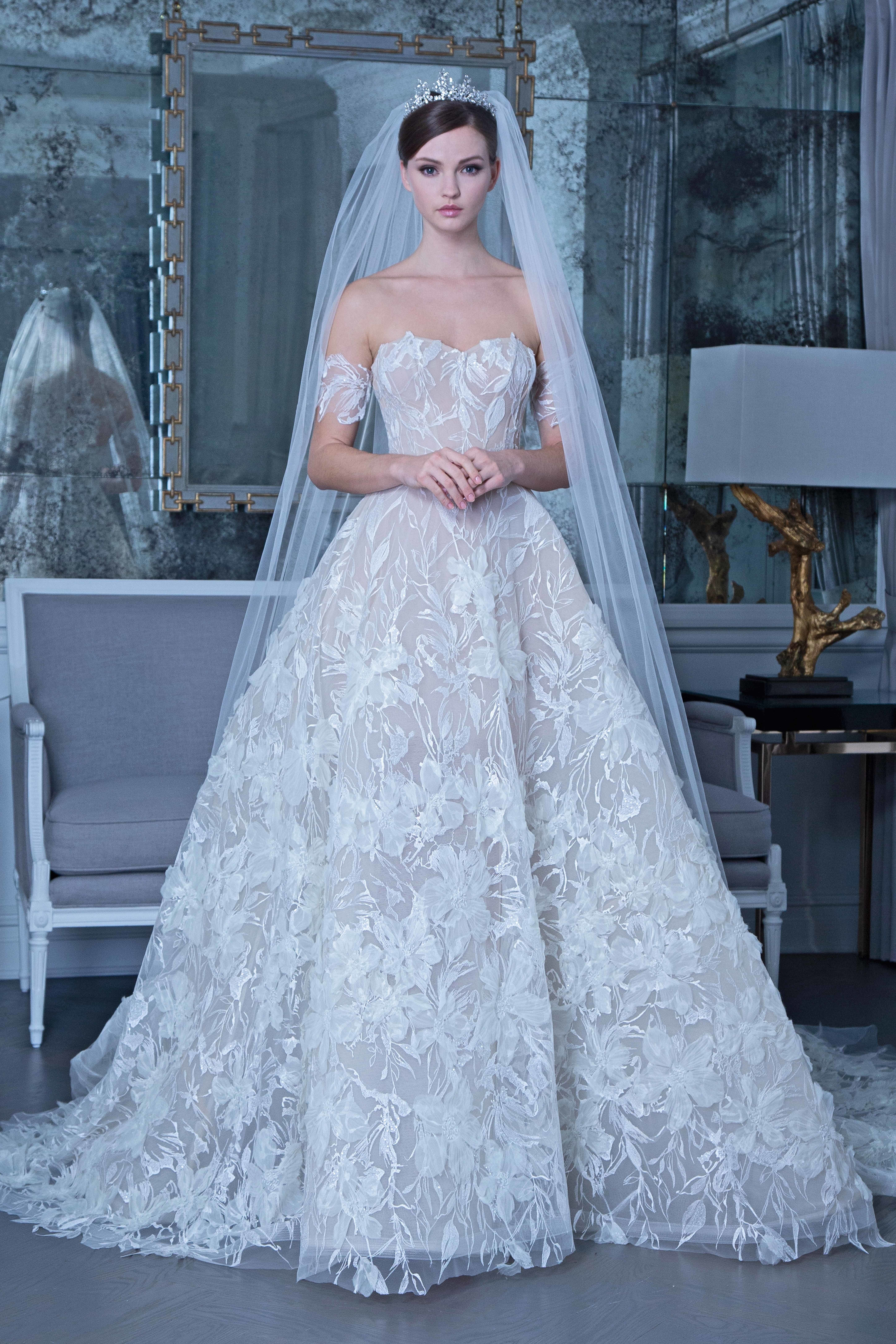 4b49d8b845 Romona Keveža Bridal   Wedding Dress Collection Fall 2019
