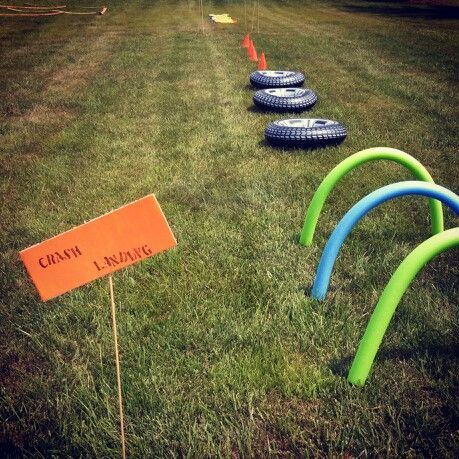obstacle course ideas Obstacle course nerf theme HEAR event