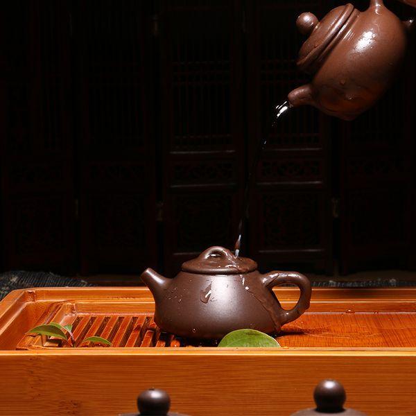 Juxian Pottery Yixing teapot ore capacity mini ornaments pet playing small pot of Kung Fu tea pot