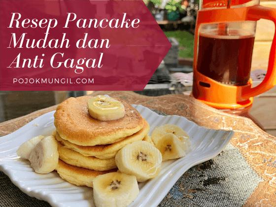 Resep Pancake Anti Gagal Untuk Sarapan Sarapan Makanan Resep