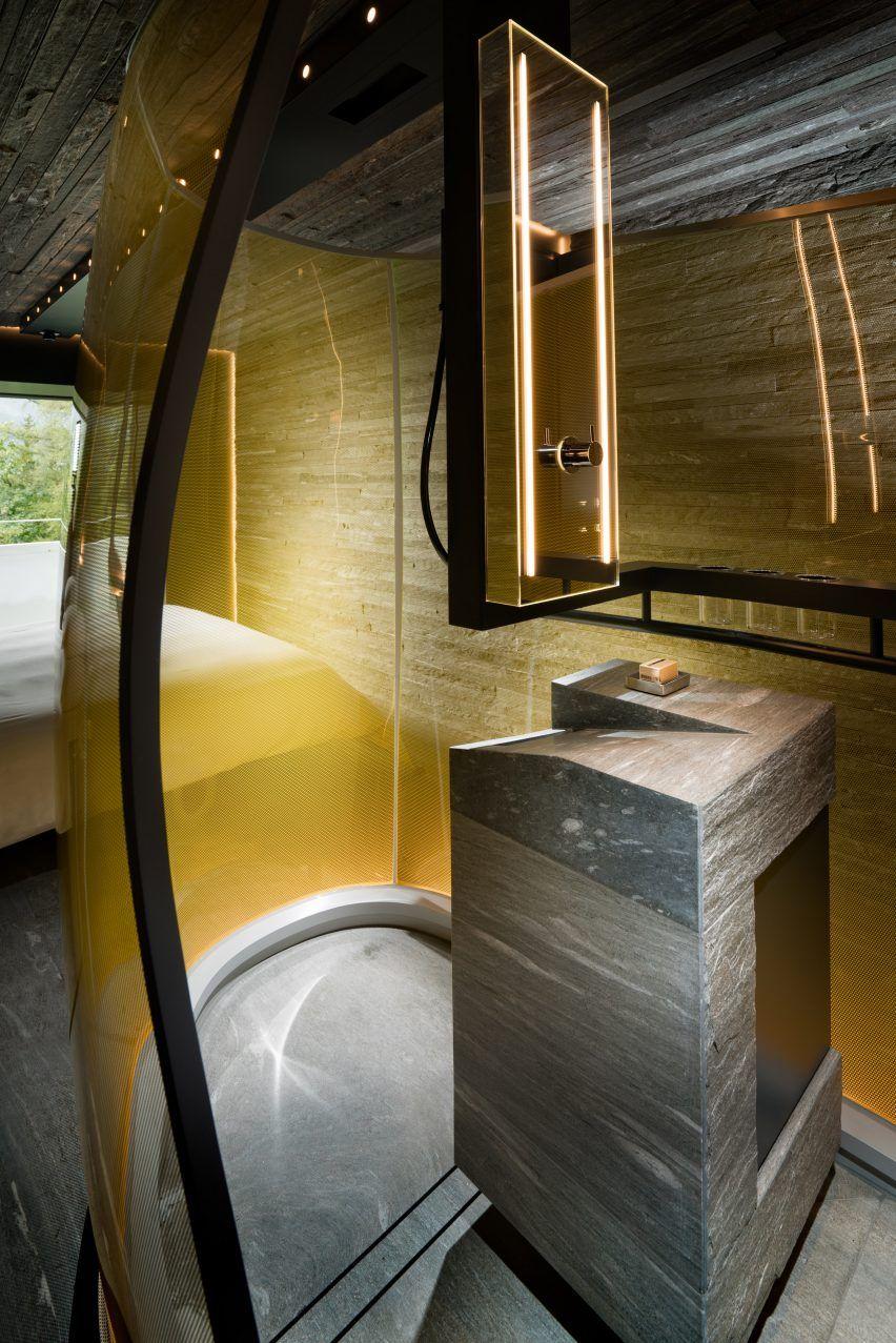 ägyptisches badezimmerdekor morphosis entwirft schlafzimmer für hotel im zumthor vals spa  haus