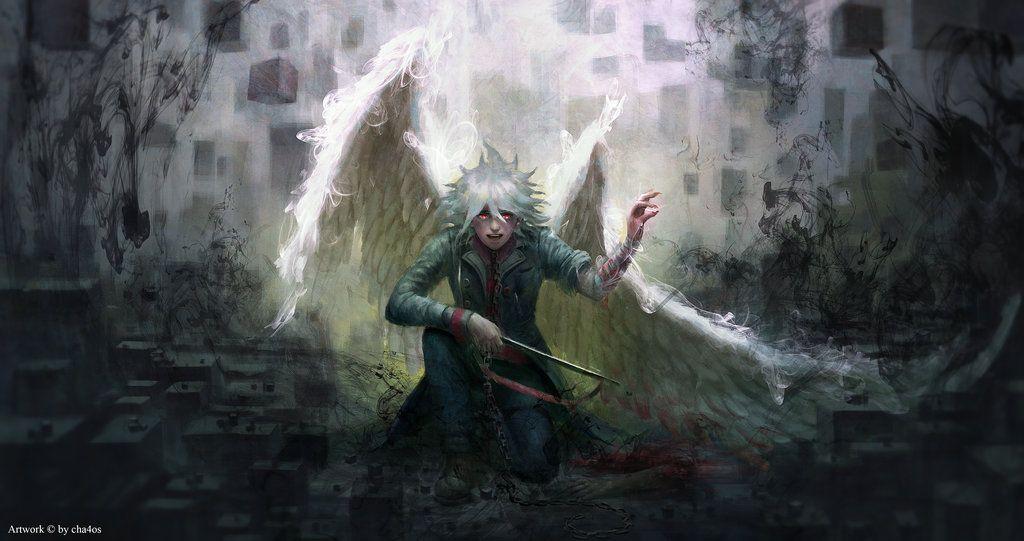 Remnant of Despair: Nagito Komaeda by cha4os.deviantart.com on @DeviantArt