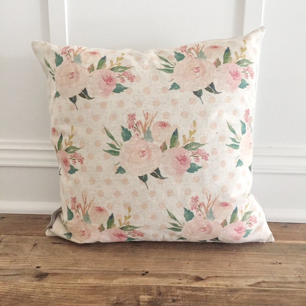 Floral pattern pillow cover in kids bedroom ideas pinterest