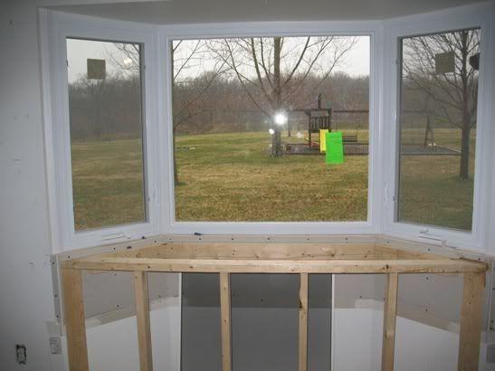 Bay Window Cabinet Storage In Kitchen