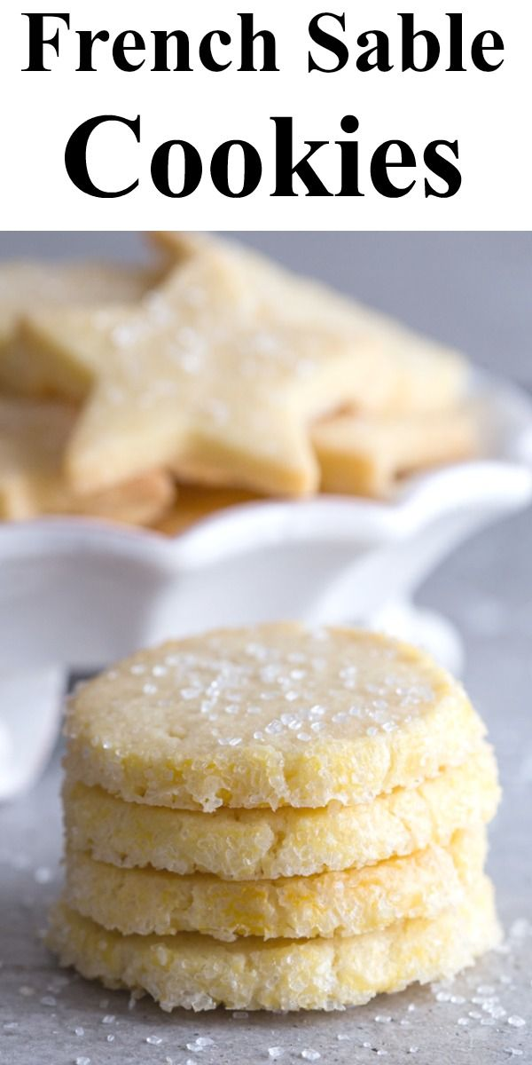 Photo of French Sable Cookies