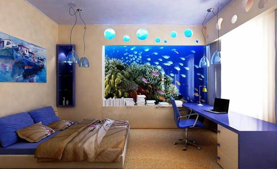 Fish Tank Bedroom Furniture Simple Interior Design For Bedroom