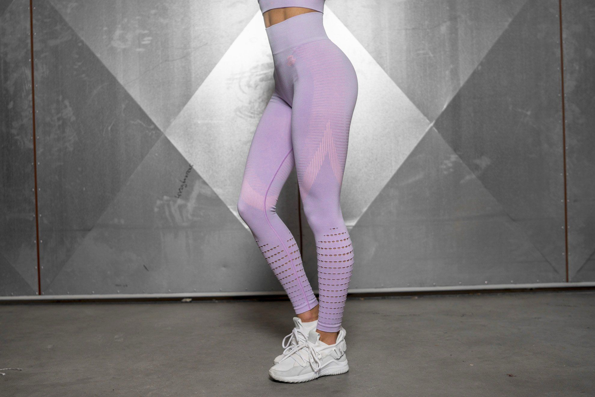 FREYA Seamless Legging High Waist - Lilac - Engineered Life 49d48186d