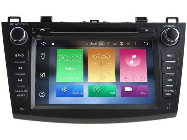Android 6 0 CAR Audio DVD player FOR MAZDA 3 2010-2012 gps