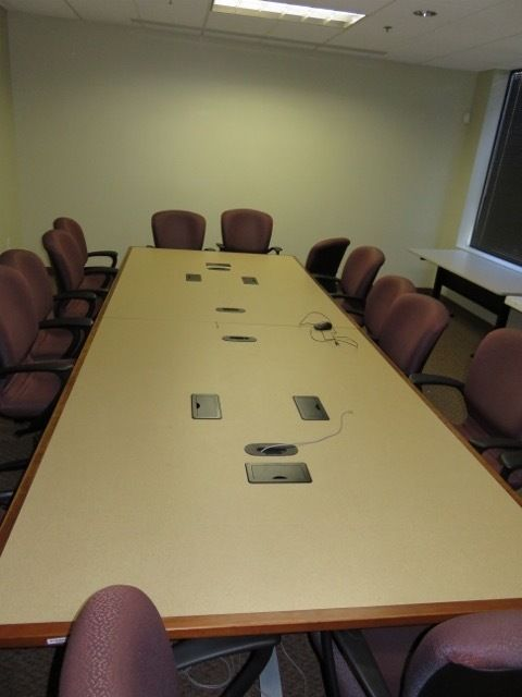 Details About 12ft Conference Table With Power And Data Ports