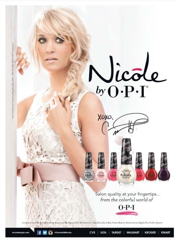 Nicole By OPI Nail Polish Ad