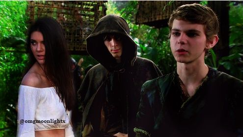 Kendall Jenner, Robbie Kay and Parker Croft manip made by me