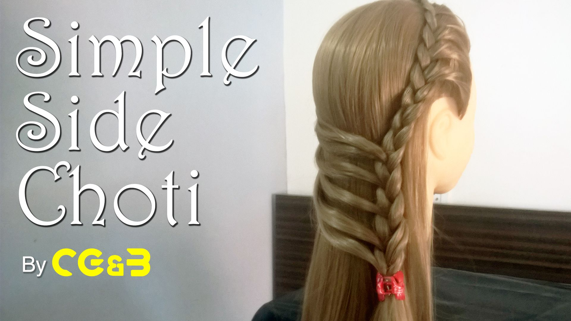 Upper Side Choti Simple Hairstyle For Any Party Cute Simple Hairstyles Easy Hairstyles Hair Styles