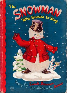 The Snowman Who Wanted to Stay