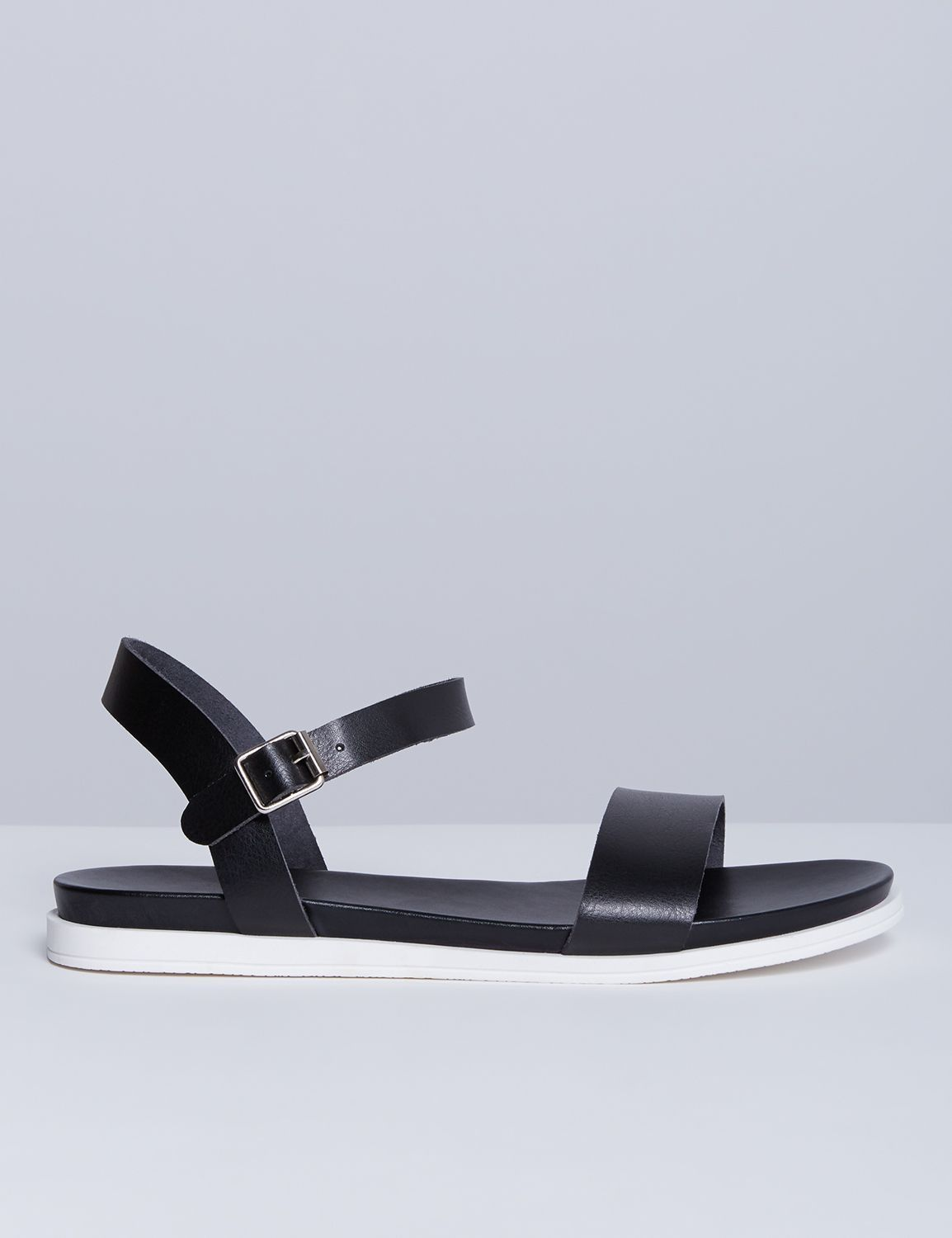 a1eea91246b6 2-Strap Sandal with White Sole