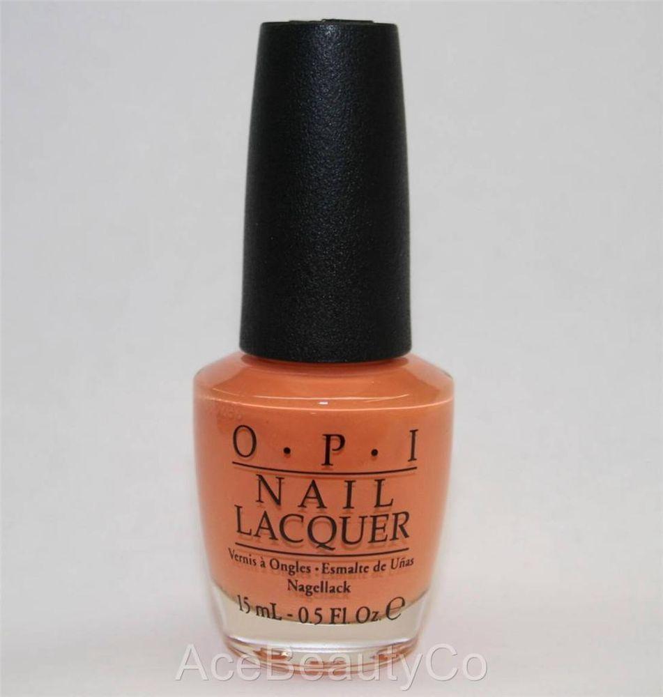*** OPI Nail Lacquer Polish ~~ Where Did Suzi's Man-go? ~~ NL A66 .5 fl oz/ NEW #OPI