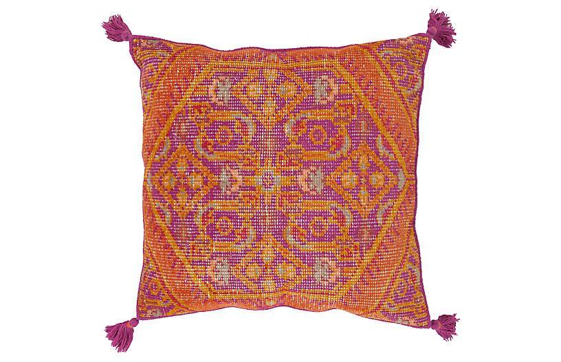 Zahra 30x30 Floor Pillow Orange Now 156 00 Was 195 00
