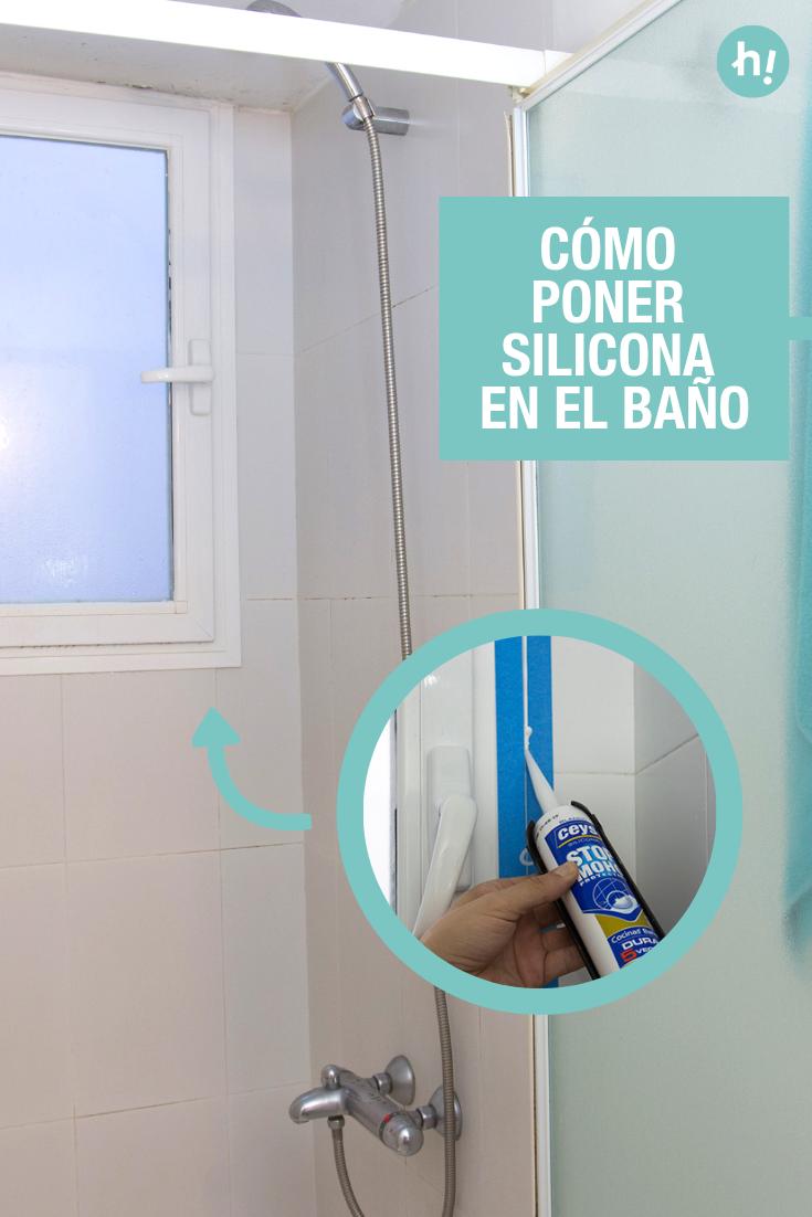 Cómo renovar la silicona del baño | Limpiar moho, Espejo ...