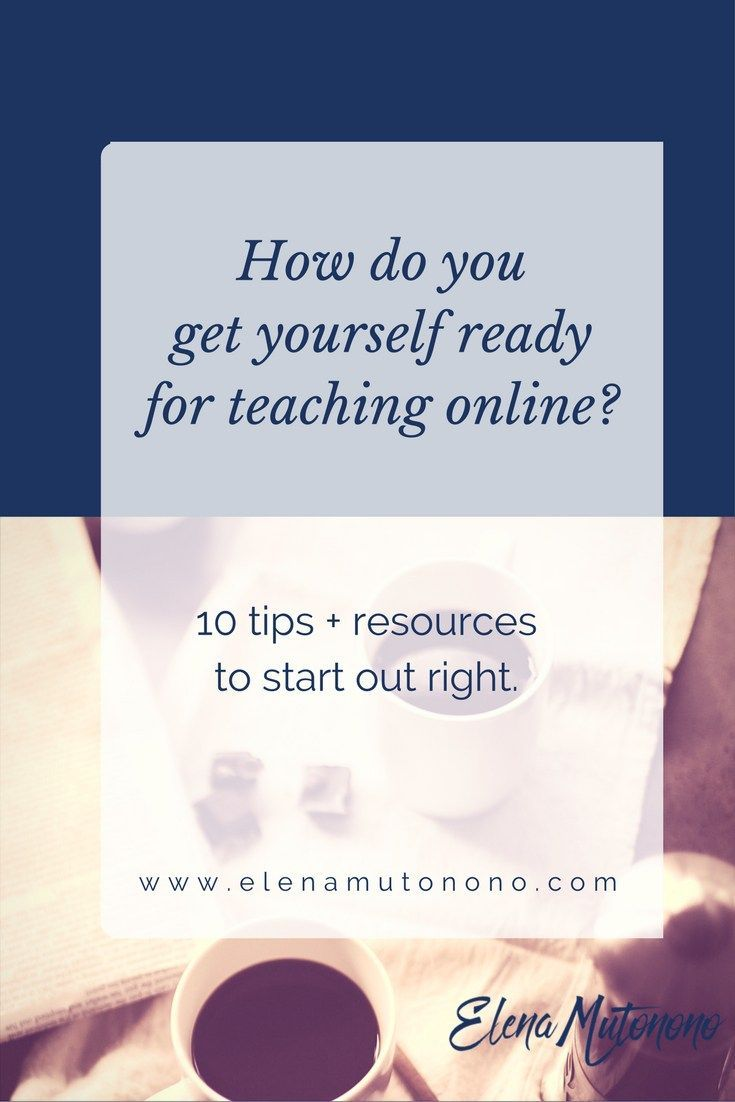 Get yourself ready to teach online: check out my 10 unorthodox and rebellious tips.