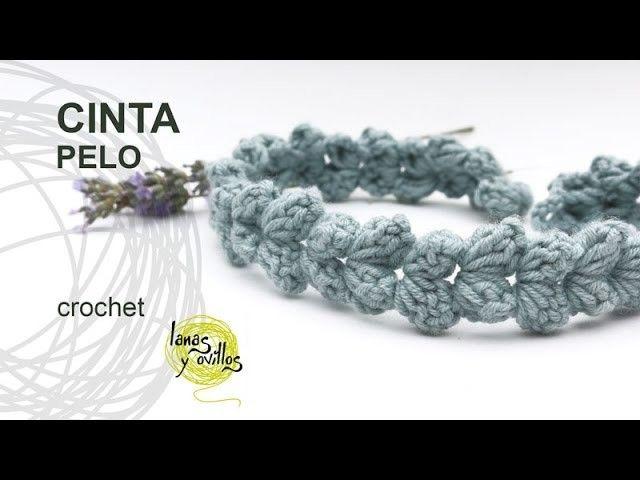Tutorial Cinta Pelo Crochet o Ganchillo Fácil y Rápido   Ganchillo ...