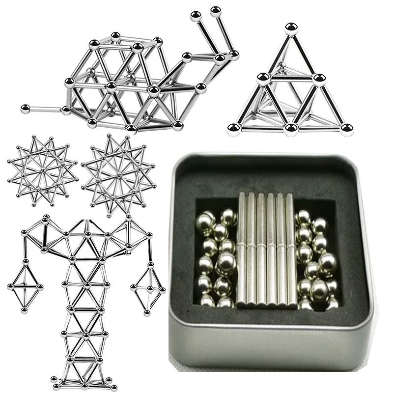DIY Magnetic Sticks And Balls-40% OFF TODAY In 2020