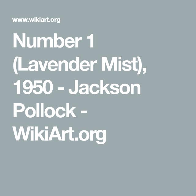lavender mist number 1