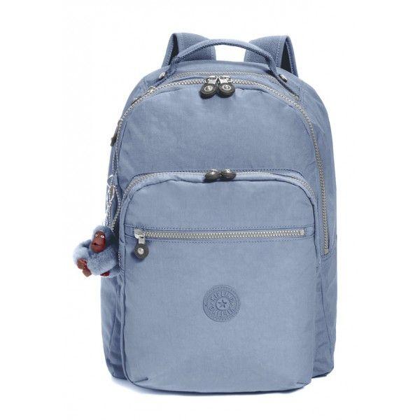 ed7a375a4 Mochila Escolar Kipling Seoul Coleção Basic, cor Denim Blue ...