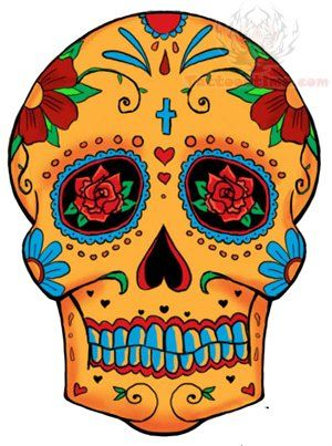 sugar skull tattoo design roses rose eyes sugar skull tattoo design