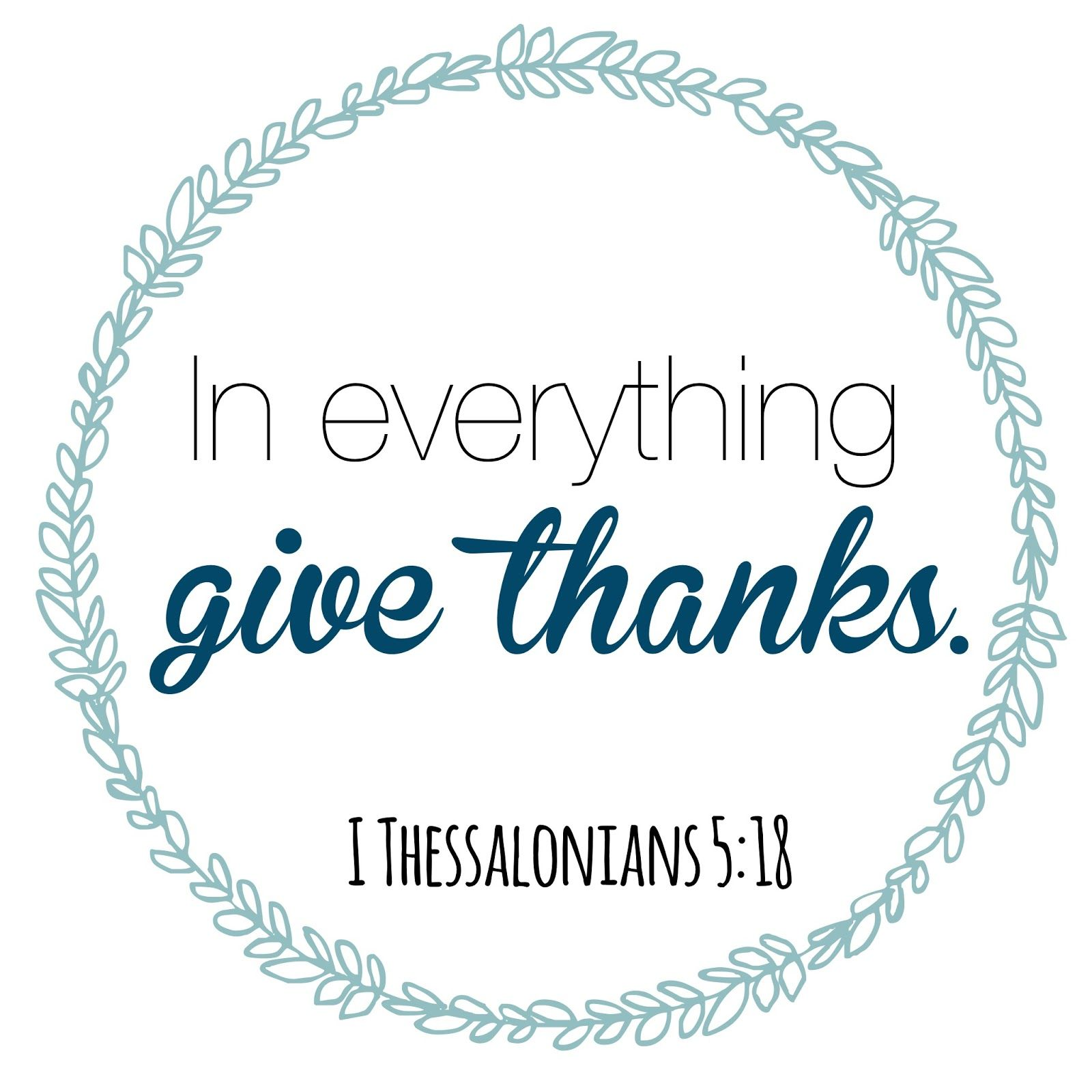 """Thank You Biblical Quotes: """"In Everything Give Thanks""""... Including Infertility"""