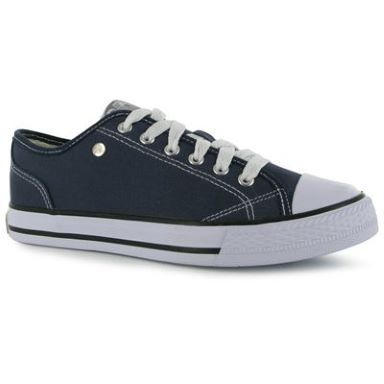 Canvas Low Ladies Trainers | Trainers