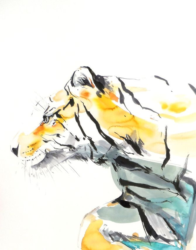 'The River's Tale' - Frances Ives