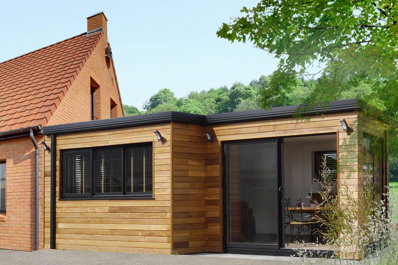 Extension Habitation extension en bois : concrétisez votre projet d'extension d