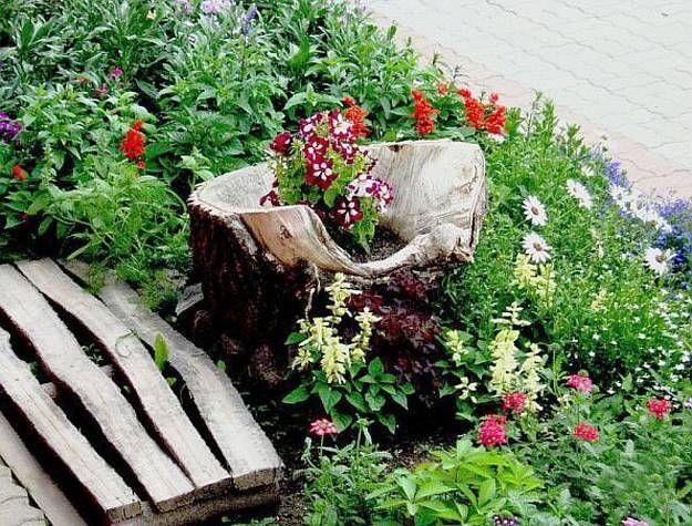 stumperies garden decorations yard landscaping ideas