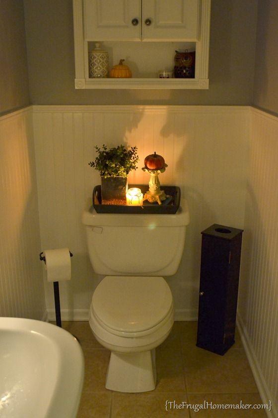 Guest Bathroom Vanity Tray