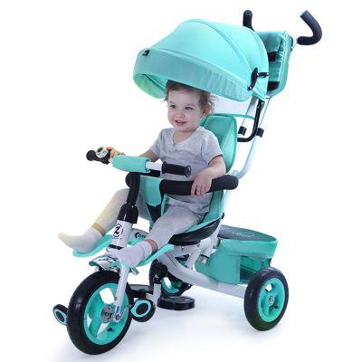 069e1fdc32 Comprar Triciclo crianças bebê bicicleta roda inflável carrinho de 1-3-5  anos de idade do bebê bicicleta carrinho de criança