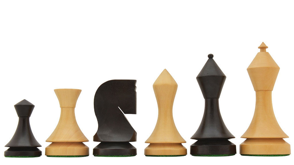 19th Century Classic Series Chess Set In Stained Dyed Box Wood 4 0 King Sku S1254 Classic Series 19th Century Classic