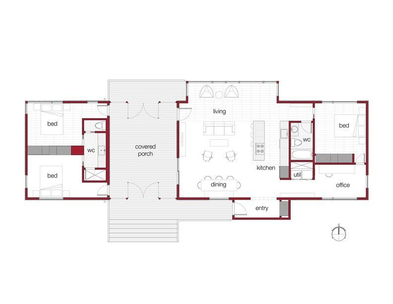 amazing modern dogtrot house plans with images dog