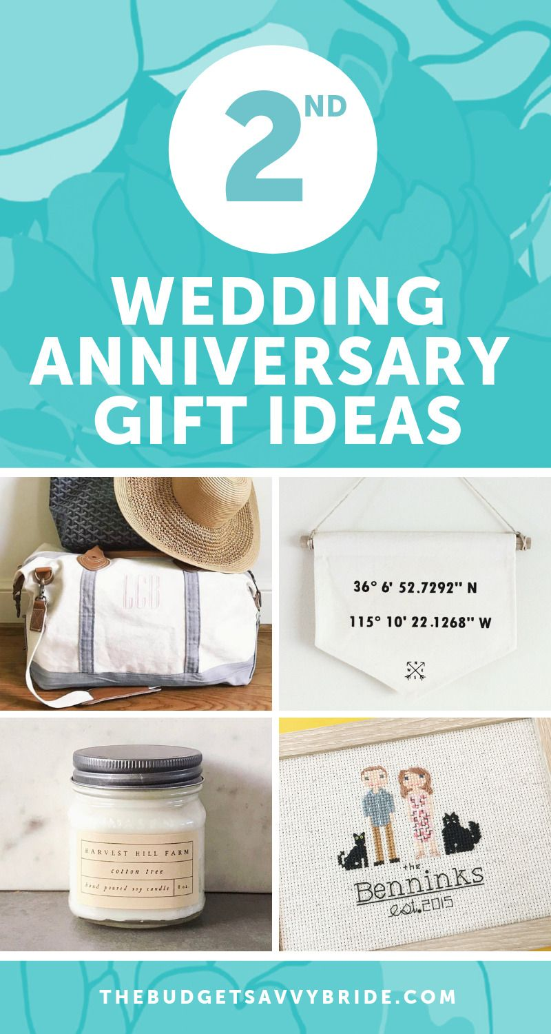 Second Wedding Anniversary Gift Ideas Gifts For Your 2nd Anniversary Second Wedding Anniversary Gift Cotton Wedding Anniversary Gift 2nd Wedding Anniversary