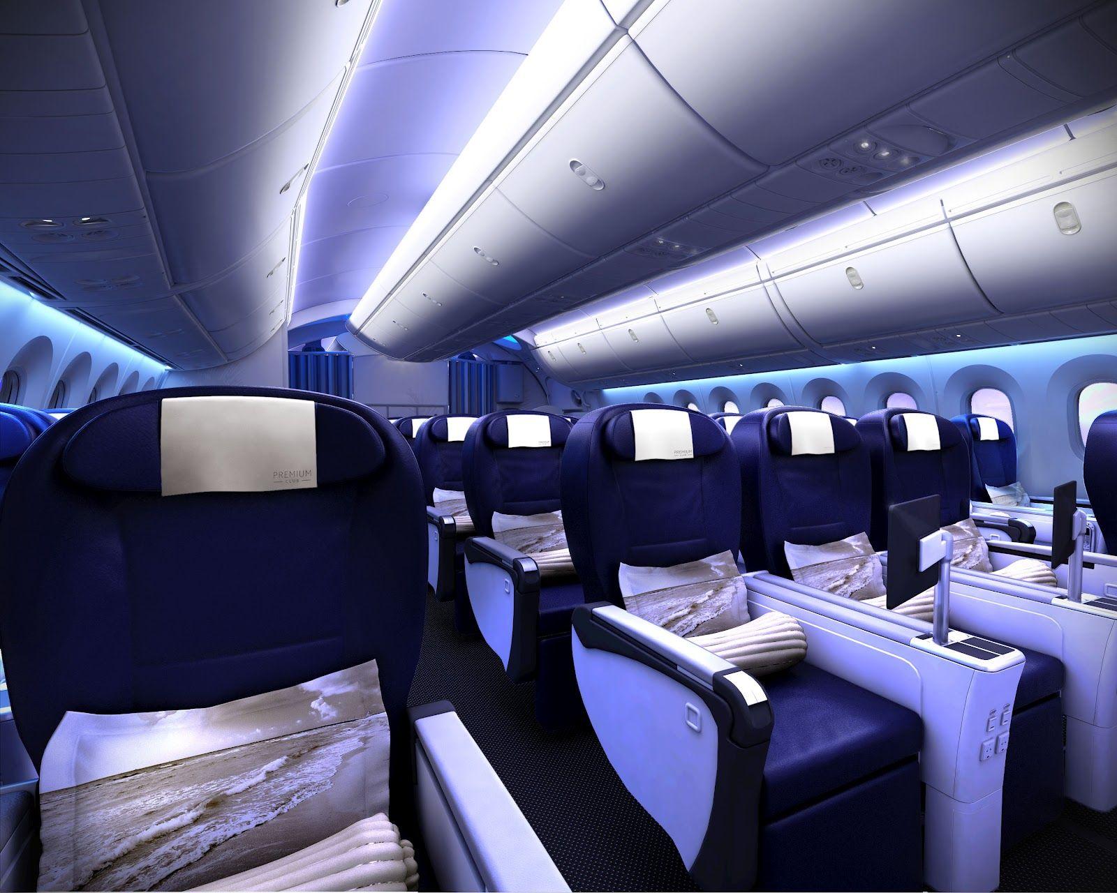 Boeing 787 interior coach viewing gallery - Thomson 787 Dreamliner Premium Club Thomson Airways New Boeing 787 Is Scheduled To Enter Service