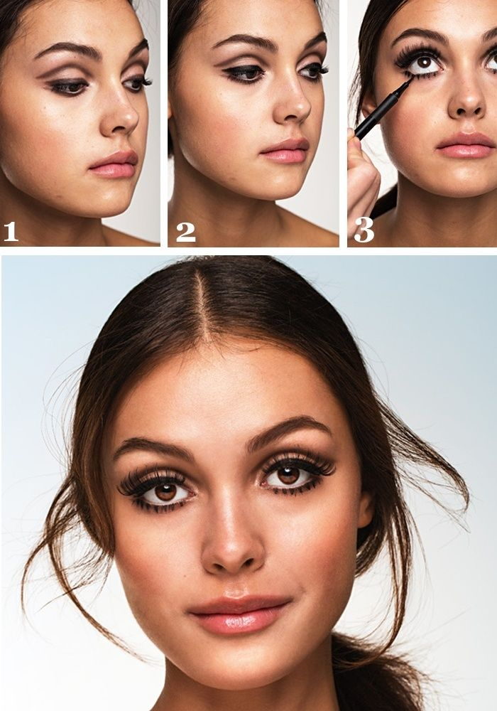 60s 1960's Twiggy look! Make up, beauty style inspiration