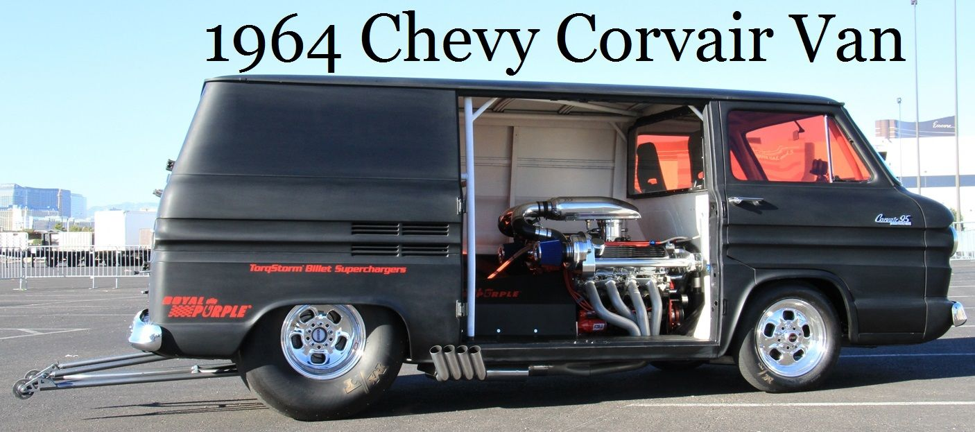 Auto's1964ChevyCorvair Van pro street Pinterest Vans