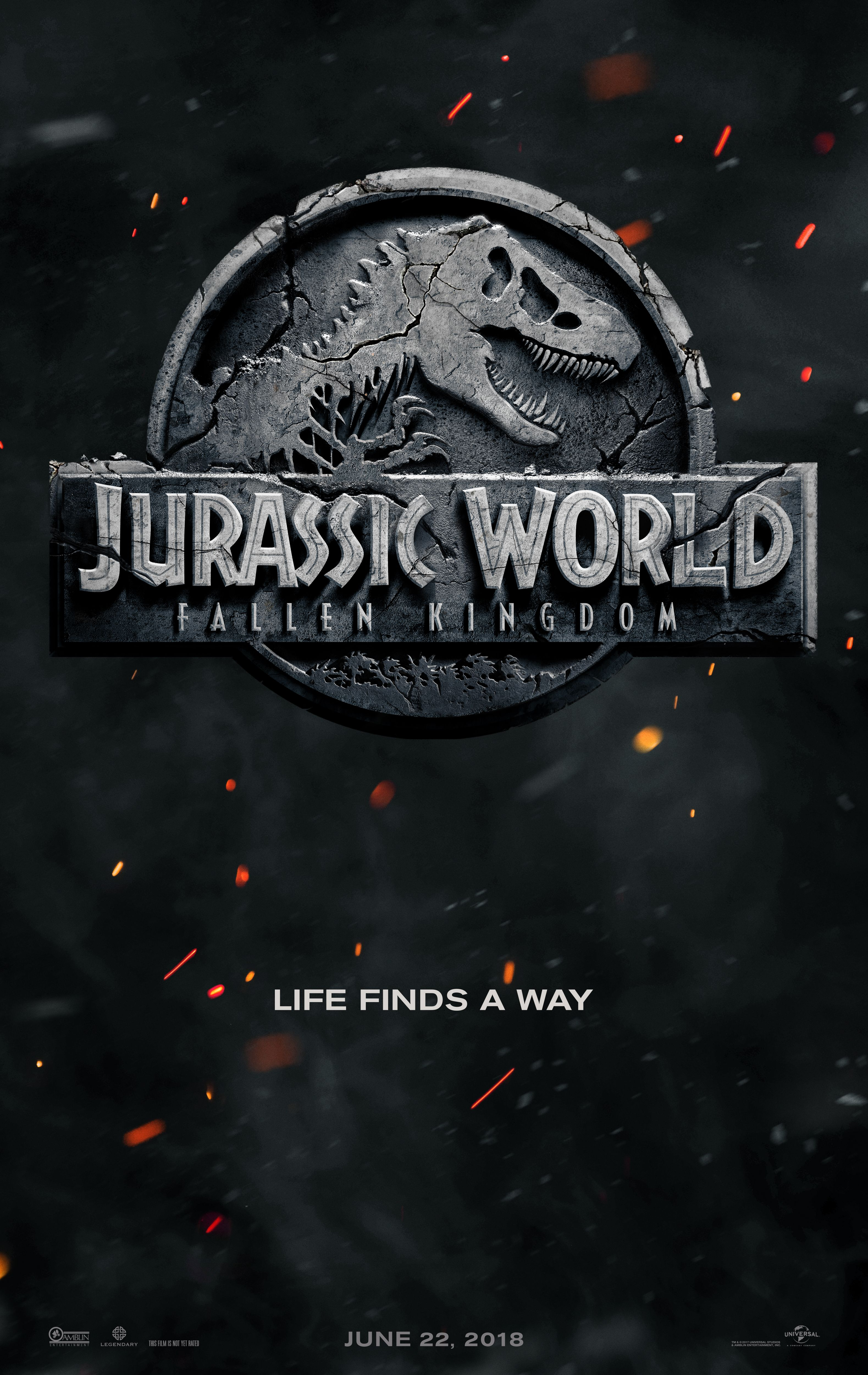 Jurassic World Fallen Kingdom Coming 2018 Jurassicworld