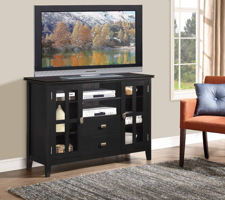 Amazon Com Simpli Home Artisan Tv Media Stand For Tvs Up To 60