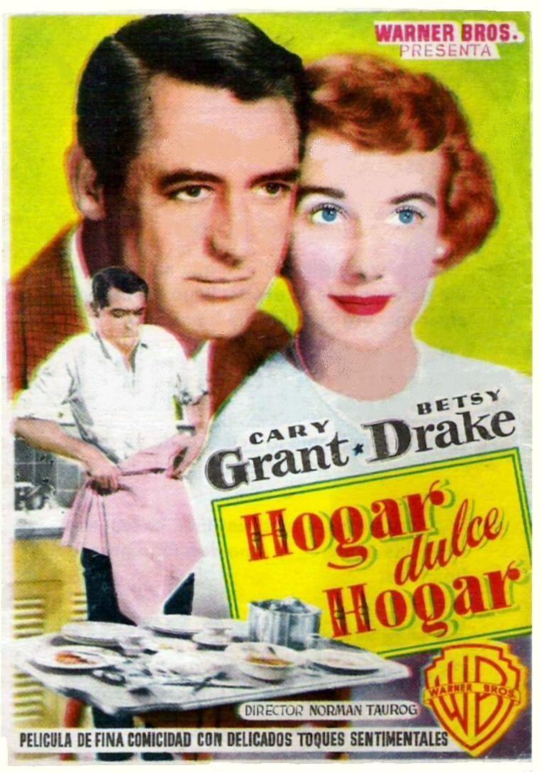 Hogar Dulce Hogar 1952 Tt0045102 Esp Carteles De Cine Cine Peliculas Antiguas