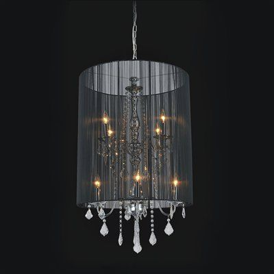 Crystal World Lighting 5002p22c 8 Light Chandelier