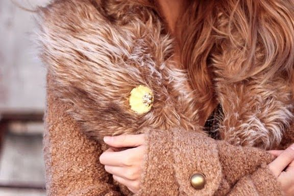 Fur Coat that I could totally live in