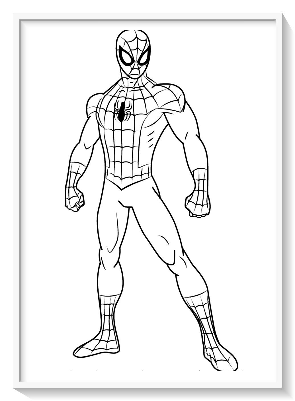 Fichas De Spiderman Para Colorear Comic Theme Hombre