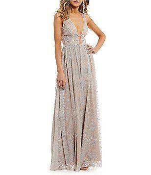 fb1f92dfac1 GB Social Glitter Jewel-Strap Dress